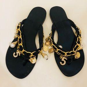 🇮🇹Giuseppe Zanotti lucky-charms sandals. 50% off